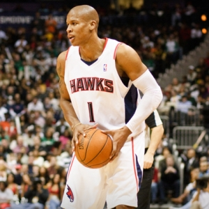 Maurice Evans of the Atlanta Hawks