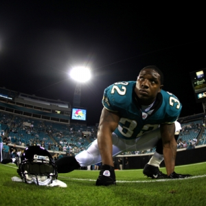 Maurice Jones-Drew, running back for the Jacksonville Jaguars.