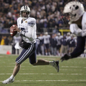 Max Hall, quarterback for BYU.