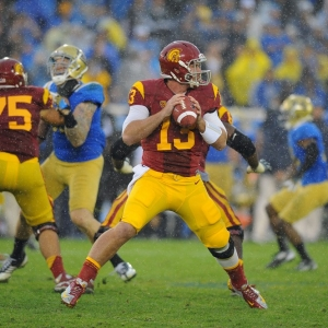 Max Wittek of the USC Trojans