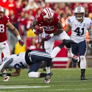 Wisconsin running back Melvin Gordon