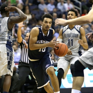 Monmouth Hawks guard Micah Seaborn