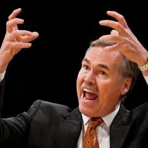 Head coach Mike D'Antoni of the New York Knicks