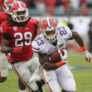 Gators running back Mike Gillislee