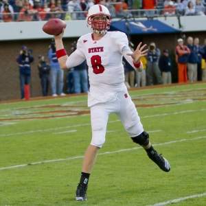 NC State Wolfpack quarterback Mike Glennon