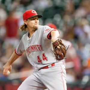 Cincinnati Reds starting pitcher Mike Leake