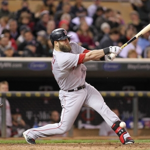 Mike Napoli Boston Red Sox