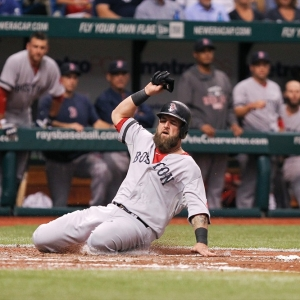Red Sox first baseman Mike Napoli
