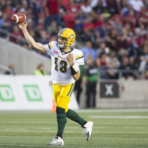 Mike Reilly Edmonton Eskimos