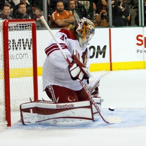 Phoenix Coyotes goalie Mike Smith