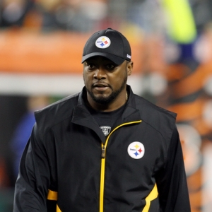 Mike Tomlin head coach of the Pittsburgh Steelers