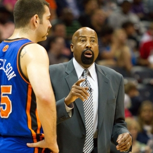 New York Knicks Coach Mike Woodson