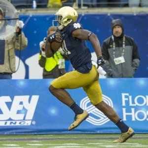 Notre Dame Fighting Irish wide receiver Miles Boykin
