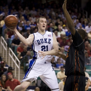 Duke forward Miles Plumlee