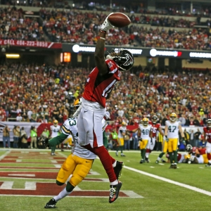 Atlanta Falcons wide receiver Mohamed Sanu