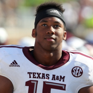 Texas A&M Aggies defensive end Myles Garrett