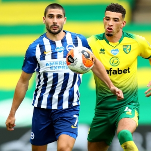 Neal Maupay Brighton and Hove