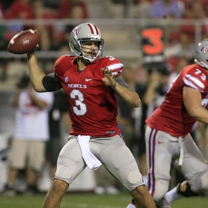 UNLV quarterback Nick Sherry
