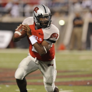 Omar Clayton, quarterback for the UNLV Rebels.