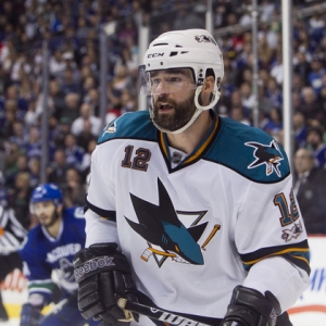 Patrick Marleau of the San Jose Sharks