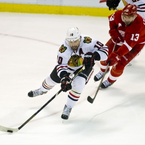 Chicago Blackhawks forward Patrick Sharp