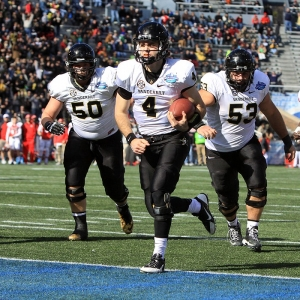 Vanderbilt Commodores quarterback Patton Robinette