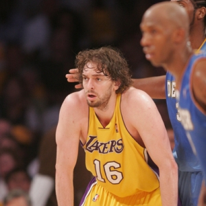 Pau Gasol of the LA Lakers.