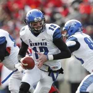 University of Memphis quarterback Paxton Lynch