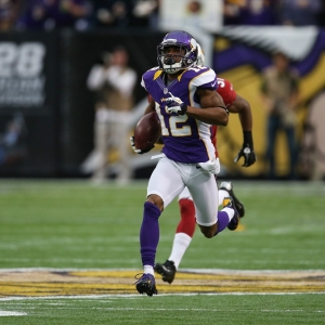 Former Minnesota Vikings wide receiver Percy Harvin