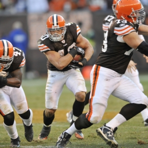 Cleveland Browns running back Peyton Hillis