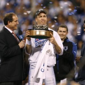 Indianapolis Colts' quarterback Peyton Manning