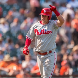 Philadelphia Phillies Rhys Hoskins