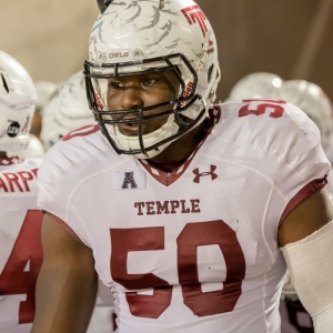 Temple Owls defensive lineman Praise Martin-Oguike