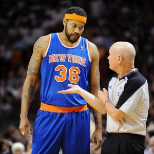 New York Knicks' Rasheed Wallace