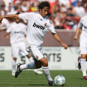 Real Madrid's Raul Gonzalez.