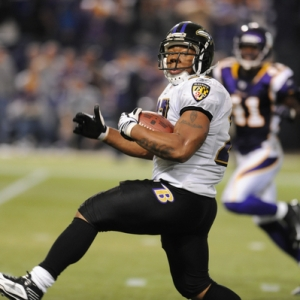 Baltimore Ravens running back Ray Rice.