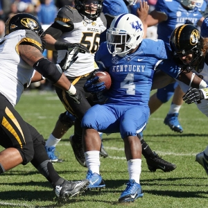 Kentucky Wildcats running back Raymond Sanders