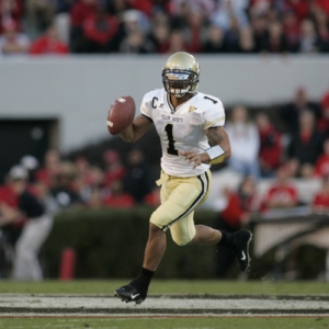 Georgia Tech quarterback Reggie Ball.
