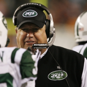 New York Jets' head coach Rex Ryan.