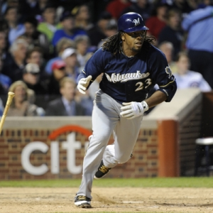 Milwaukee Brewers second baseman Rickie Weeks