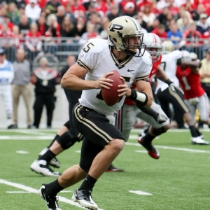 Rob Henry of the Purdue Boilermakers