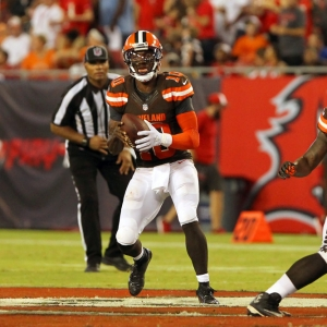 Robert Griffin III of the Cleveland Browns
