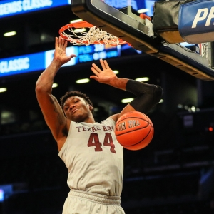 Robert Williams of the Texas A&M Aggies