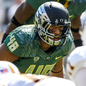 Oregon Ducks linebacker Rodney Hardrick