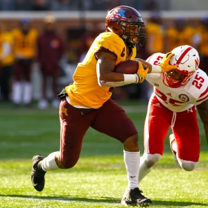 Minnesota Golden Gophers running back Rodney Smith