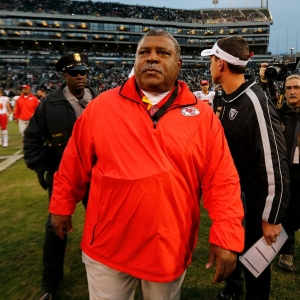 Kansas City Chiefs head coach Romeo Crennel