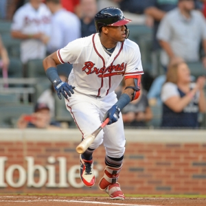 Atlanta outfielder Ronald Acuna, Jr.
