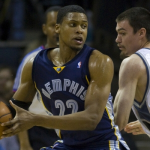 Memphis Grizzlies forward Rudy Gay (22).