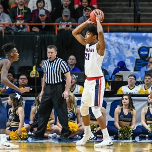 Rui Hachimura of the Gonzaga Bulldogs