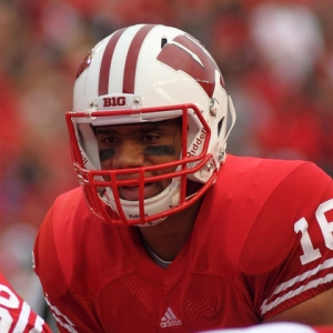 Russell Wilson of the Wisconsin Badgers